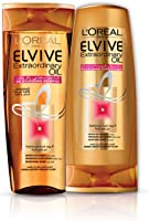 L'oreal Elvive Oil Shampoo Dry Hair 400ml + Conditioner 400ml Dry Hair