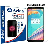 AVICA® 0.1mm Nano Technology German Schott Flexible Tempered Glass Screen Protector for OnePlus 5T / One Plus 5T / 1+5T
