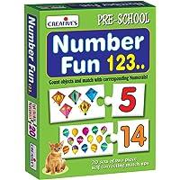 Creative Educational Aids P. Ltd. Number Fun 123 Puzzle (Multi-Color, 40 Pieces)