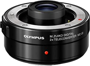 OLYMPUS M.Zuiko Digital 2X Teleconverter MC‑20 für M.ZUIKO DIGITAL 40-150mm 1:2.8 PRO & M.ZUIKO DIGITAL ED 300mm 1:4 PRO