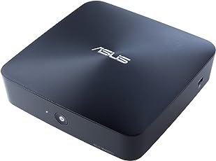 Asus Barebone VivoMini UN45-VM014M Mini Desktop-PC (Intel Celeron N3000, ohne Speicher, ohne HDD, kein Betriebssystem) midnight blue