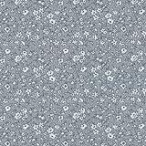 Baumwollstoff | La fleur de la liberté Stoff - Weiß und