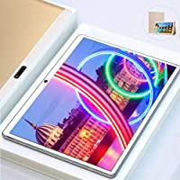 Tablet 10 Pollici, 4G Wi-Fi 8-core 4GB RAM e 64GB di Memoria Dual SIM / WIFI / GPS/Bluetooth/OTG/Netflix Tablet con Wifi Offerte VOUKOU S6 PRO (Oro)