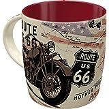 Nostalgic-Art Taza de café retro Route 66 Bike Map