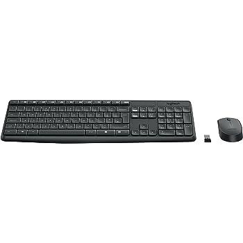 e1e67e980e7 Logitech MK235 Wireless Keyboard with Mouse Combo for Windows, Linux and  Chrome OS - QWERTY