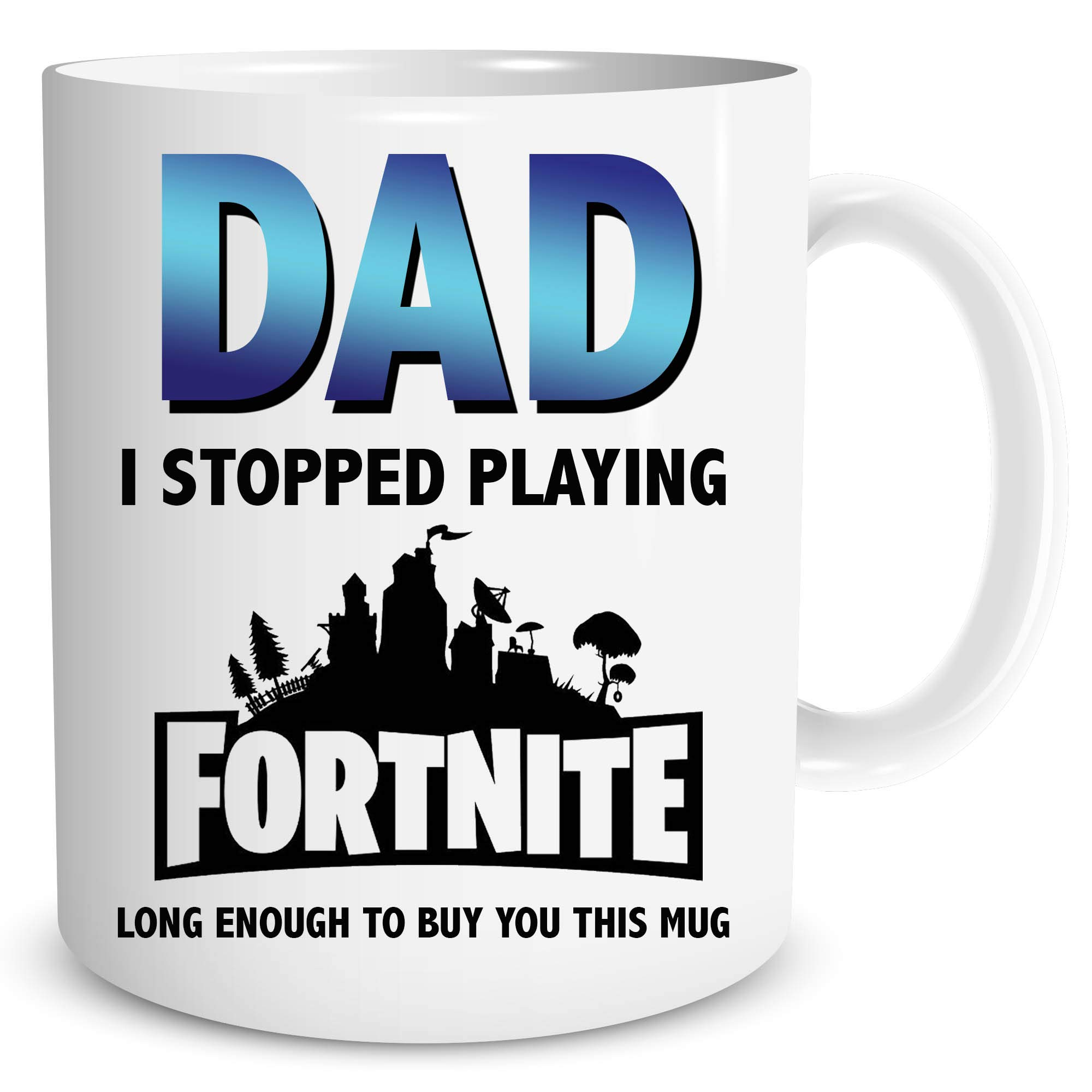 Papa Fortnite Gaming des Vaters Tag Geschenk Geschenk Tasse Papa ...