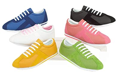Ladies Casual Sports Girls Platform Trainers Women Lace Up Creepers Pumps Shoes