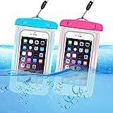 حقيبة ORIbox يونيفرسال مضادة للماء للهواتف الجافة مع حافظة زينة مضيئة لهاتف iPhone 11 Pro Max XS Max XR X 8 7 6S Plus SE 2020