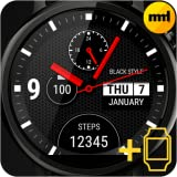 Watch face Black Style