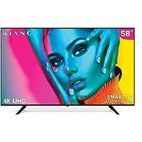 "Téléviseur Kiano SlimTV 58"" [SmartTV, 147 cm, 4K UHD] Multimedia USB (PVR, Dolby Audio, Triple HDMI, 8.5 ms, LED, Direct…"