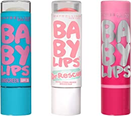 Maybelline New York Ny Minute Baby Lips Lip Balm 3 Piece Gift Set