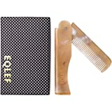 Yak Horn pieghevole pettine elegante tasca pieghevole Yak Horn pettine portafoglio-fit fascio (1pcs)