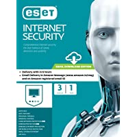 ESET Internet Security - 3 Devices, 1 Year (Email Delivery in 2 Hours- No CD)