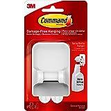 """Command 17009-ES Handgrepen en Hangers: Spray Flessenhanger [1-Pack] (wit), 6.7""""*2""""*3.8"""""""
