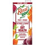 Real Activ Beetroot Carrot Juice with No Added Sugar or Preservatives -1L
