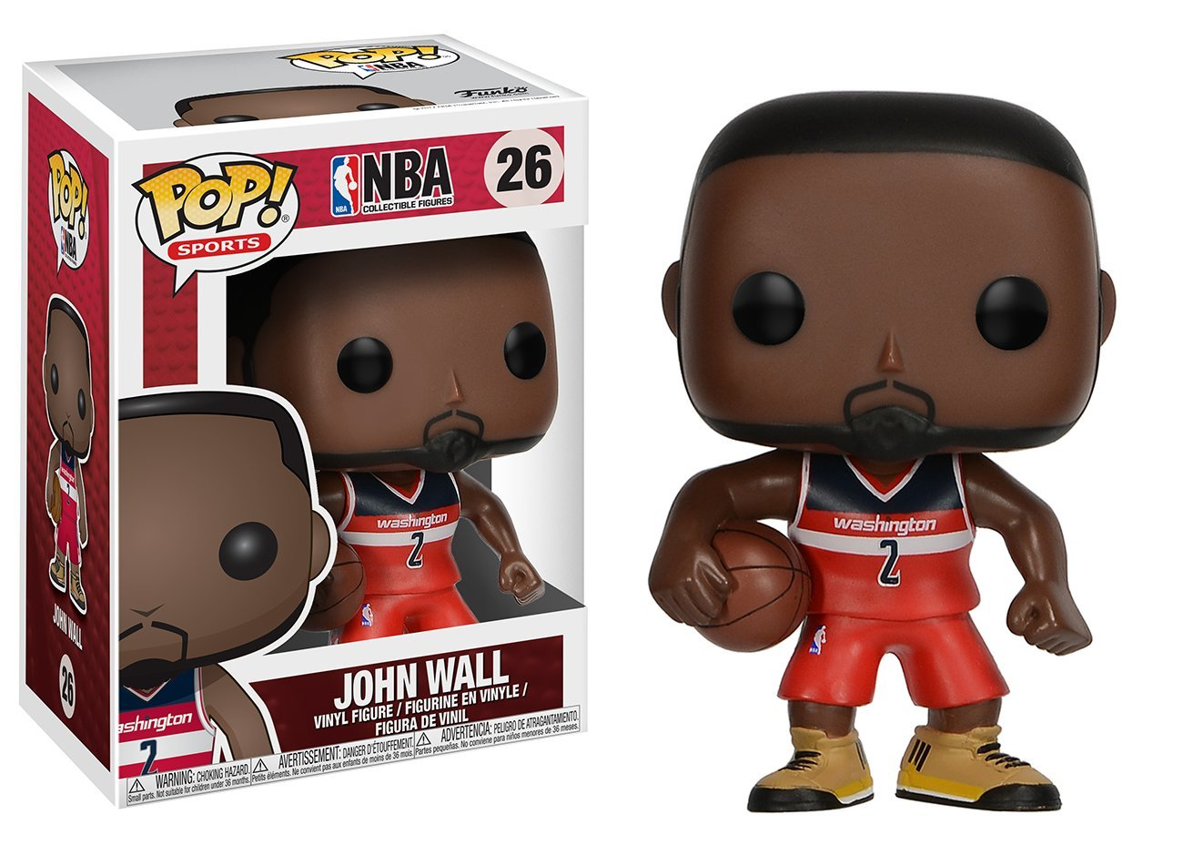 Funko Pop John Wall Washington Wizards (NBA 26) Funko Pop NBA
