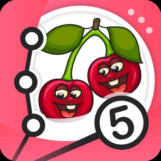 Punkt zu Punkt - Früchte (äpfel Zu äpfel Kinder)