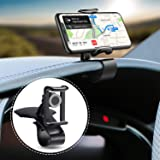 Car Phone Holder,ShowTop 360-Degree Rotation Cell Phone Holder Suitable for 4 to 6.5 inch Smartphones,Rotating Dashboard Clip