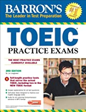 TOEIC Practice Exams with MP3 CD 3rd Edition