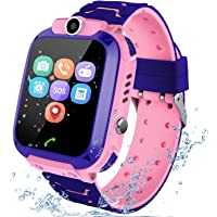 Kids Smart Watch Phone per Bambini IP67 Impermeabile, Orologio Smart Phone LBS Anti…