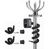 HOLACA 【Versione aggiornata】 Supporto flessibile Twist per Blink XT2, Blink Mini e Blink Indoor e Outdoor Camera (nero 2…