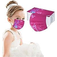 50 mascherine per bambini usa e getta, traspiranti, a tre strati, super confortevoli, con stampa in tessuto non tessuto…
