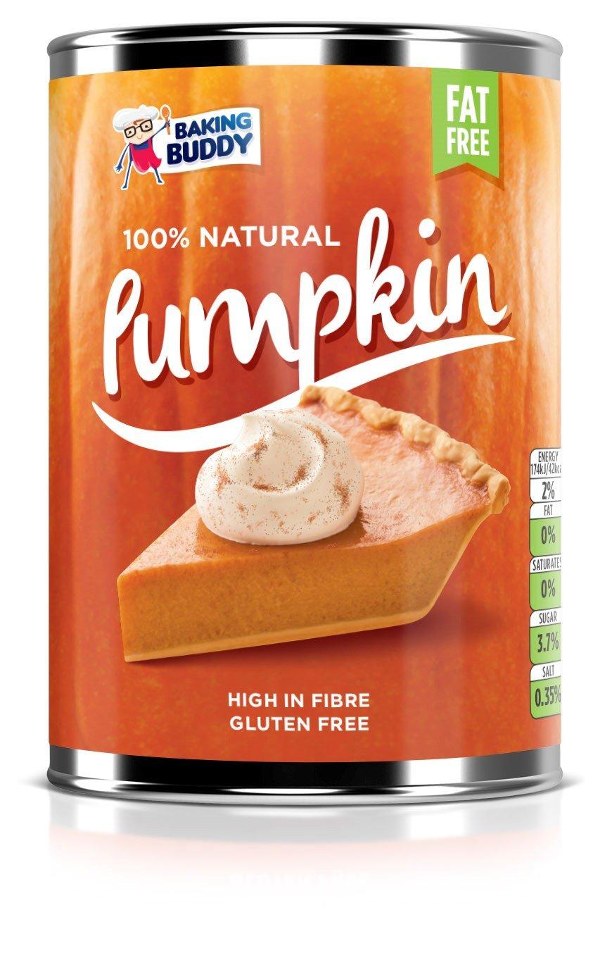 3 x Tinned Pumpkin - Pumpkin Pie Filling - 100% Natural - 3 x 425g Cans