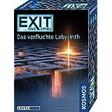 KOSMOS 682026 EXIT - Das Spiel - Das verfluchte Labyrinth, Level: Einsteiger, Escape Room Spiel, für 1 bis 4 Spieler ab 10 Ja