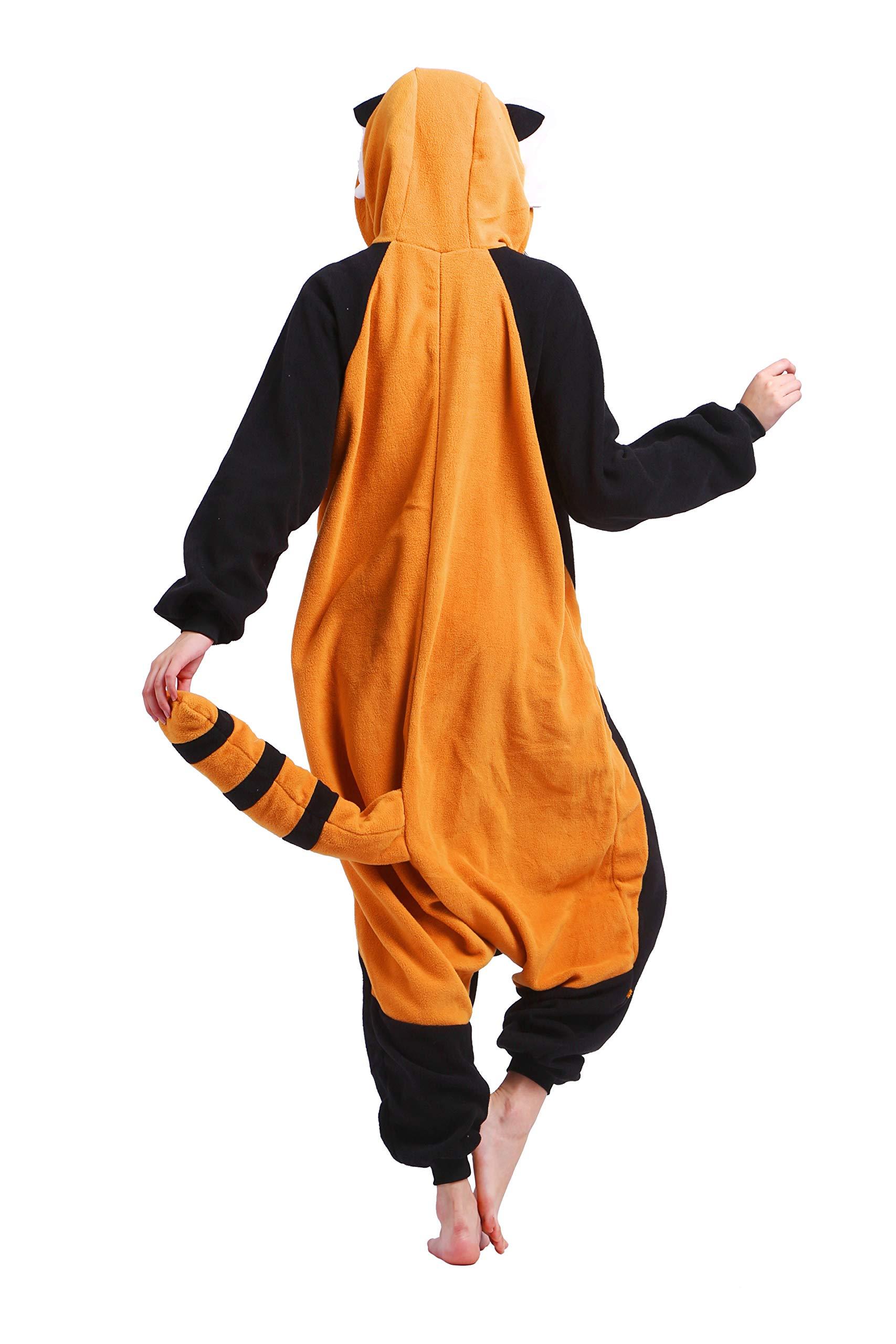 economico per lo sconto 51b38 99b3f Cosplay Donna Gatto Red Panda Animati Kigurumi Animale ...