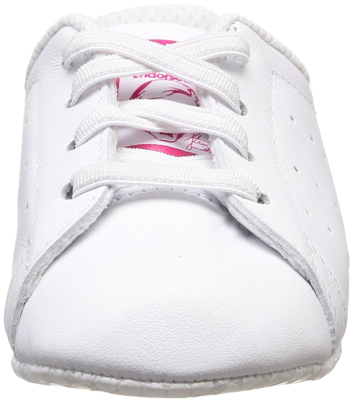 sports shoes 088be ecf33 Adidas Stan Smith Crib, Scarpe da Ginnastica Basse Unisex – Bimbi 0-24