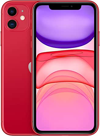 Apple iPhone 11 (64GB) - (PRODUCT) RED (include EarPods, alimentatore)