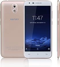 CUBOT HAFURY MIX Smartphone in Offerta Android 7.0 Smartphone, 5 Pollici HD IPS, Dual SIM, 2GB RAM + 16GB ROM, 13MP Fotocamera Posteriore 5MP Fotocamera Frontale, 2.5D Schermo di Curvo, Supporto GPS, Bluetooth cellulare (Oro) [CUBOT UFFICIALE]