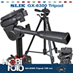 Canon EOS 650D İçin Profesyonel Slık GX-6300 Tripod 159 cm