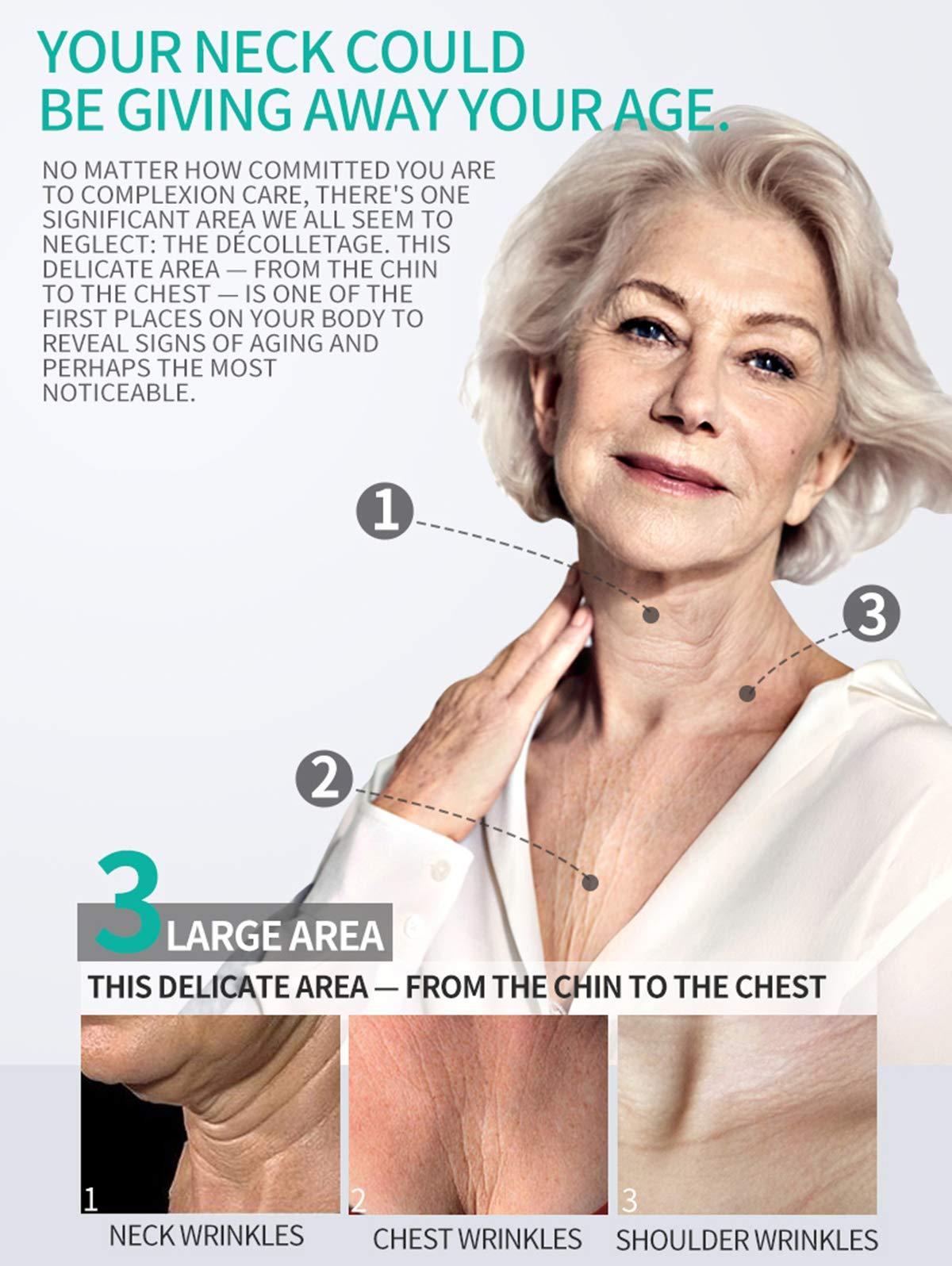 AJUMKER Cuello Arrugas Crema Cuello Crema Reafirmante Esencia Reafirmante Reparación Arrugas Antienvejecimiento Crema antiarrugas Crema Hidratante Endurecimiento de la piel Crema para el cuello 30 g
