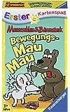 Ravensburger Kartenspiele Ravensburger 20347-Mauseschlau & Bärenstark Bewegungs Mau-Kinderkartenspiele
