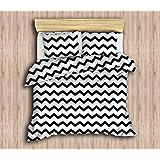 انلورا هوم طقم غطاء لحاف، نسيج قطن، متعدد الالوان