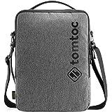 tomtoc Umhängetasche 13,5 Zoll Laptop Tasche wasserdicht Laptoptasche für MacBook Pro/Air 13, Surface Pro X/7/6, 13.5…