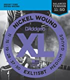 D'Addario EXL115BT Saiten Satz E-Gitarre 011-050 Medium Balanced Tension