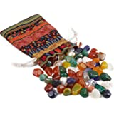 Piedras Curativas Natural 200g,Mixtas Piedras Preciosas Naturales,Minerales y Piedras Preciosas,Piedras Semipreciosas para Ni