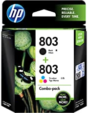 HP 803 Color/Black Ink Cartridge Combo 2-Pack