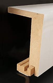 Au/ßenwinkel passend zur Heizrohrabdeckleiste 96 x 64 mm 721.9664.31 Au/ßenecke