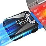 KLIM Cool – Refrigerador para Ordenador Portátil – Ventilador de Alto Rendimiento para Una Rápida Refrigeración, Aspiradora d