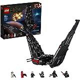 LEGO Star Wars Shuttle di Kylo Ren, Set di Costruzioni della Nave Stellare con 2 Shooter a Molla, Collezione: L'Ascesa…