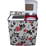 DREAM CARE Printed Washing Machine Cover for Semi Automatic LG P7556R3FA 6.5 Kg Model