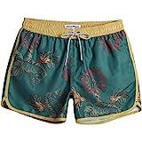 MaaMgic Bañador Hombre de Natación Secado Rápido Interior de Malla Pantalones Cortos d'Aire Vintage 80s 90s