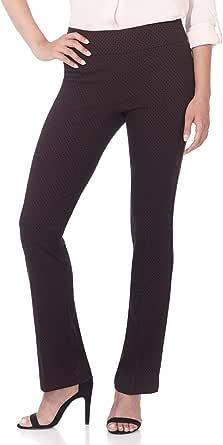 Rekucci - Pantaloni da donna con taglio a stivale