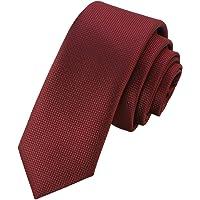 GASSANI Cravatta da 6 cm, extra lunga, strutturata