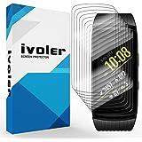 iVoler [8 Pack] Pellicola Protettiva Compatibile con Samsung Gear Fit 2 PRO, Wet Applied Protezione Schermo [Bubble-Free…