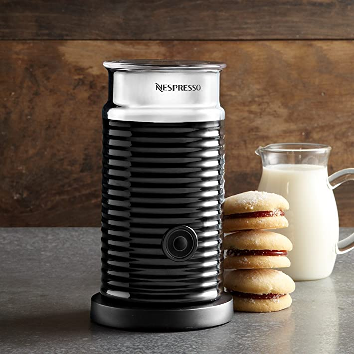 Nespresso Aeroccino 3 Emulsioneur de lait Noir (Import Allemagne ...