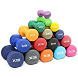 Xn8 Neoprene Halters Fitnesshalters Set Halterset voor Gymnastiek Pilates fitness krachttraining voor thuis en sportschool